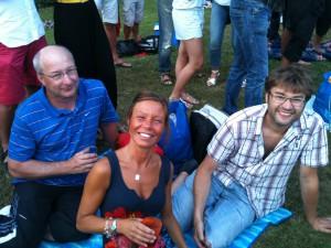100721 - Tidde, Maria & Mikael
