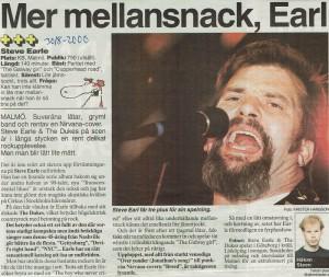 000830 - Aftonbladet - Steve Earle