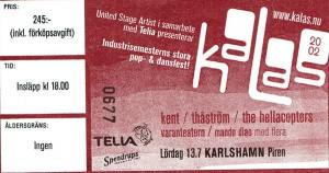 020713 - Biljett - Kalasturnen