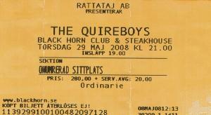 080529 - Biljett - Quireboys