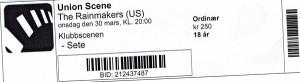 110330 - Biljett - Rainmakers