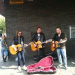 110713 Dan Hylander, Janne Bark, Calle Kristiansson 10