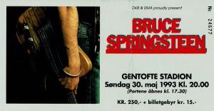 930530 - Biljett - Bruce Springsteen